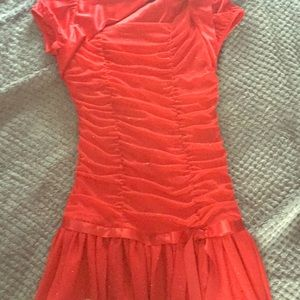 Pretty red youth dress